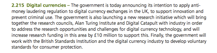 2_215 UK Government Outlines Support for FinTech and Digital Currencies UK Government Outlines Support for FinTech and Digital Currencies 2 215