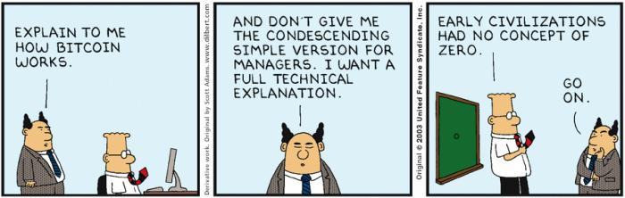 Dilbert & Bitcoin